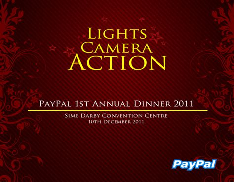 Backdrop Design For Annual Dinner | paypal annual dinner backdrop design style