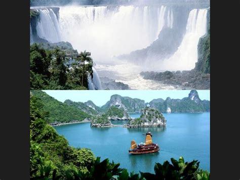 imagenes de bellezas naturales del mundo ranking de 7 maravillas naturales del mundo listas en