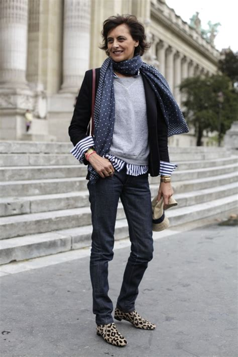 older women street style paris mature style secrets from paris beauty in the middle