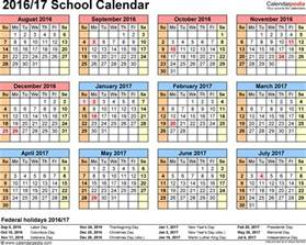 Esuhsd Calendar School Calendars 2016 2017 As Free Printable Pdf Templates