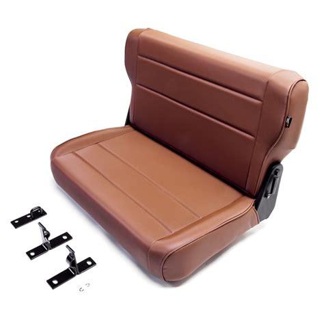 jeep seats fold rugged ridge 41317 fold and tumble replacement rear seat