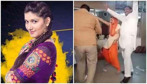 sapna choudhary big boss bigg boss 11 leaked video sapna choudhary s dance in