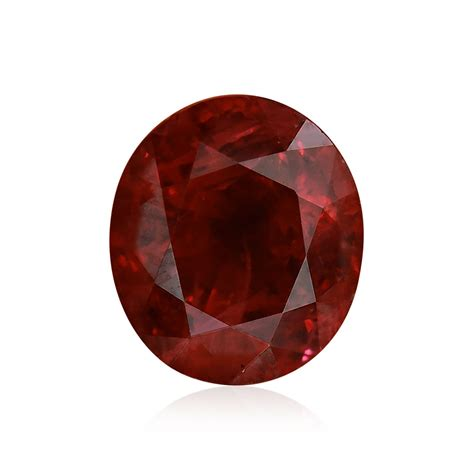 2 09 carat pigeon blood burmese ruby oval shape no