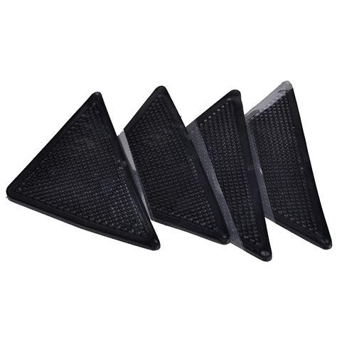 Rubber Mat Gripper by 4x Set Triangle Anti Skid Rubber Floor Carpet Mat Rug