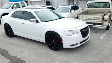 Black Rims For Chrysler 300 by 877 544 8473 22 Inch Velocity Vw12 Gloss Black Rims