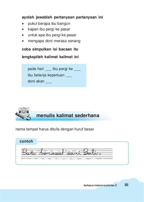 membuat puisi sesuai nama bahasa indonesia kls 2
