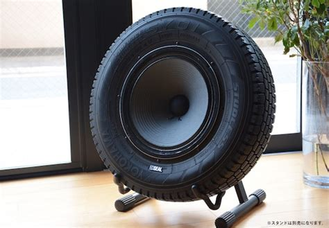 Kitchen Accessory Ideas - japan trend shop seal recycled tires speaker