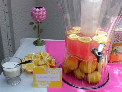 Lemonade For Baby Shower by My Pink Lemonade Baby Shower Take Time For Style