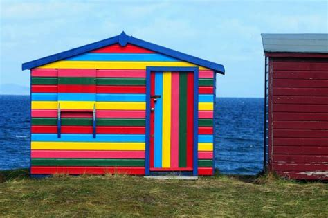 Colourful Sheds by In Pictures Seaside Sheds Daily Record