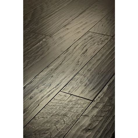 shaw western hickory winter grey 3 8 in thick x 5 in