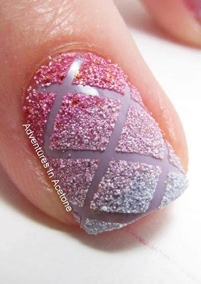 Criss Cross Nail Design 20 coolest striped striped nail designs and ideas