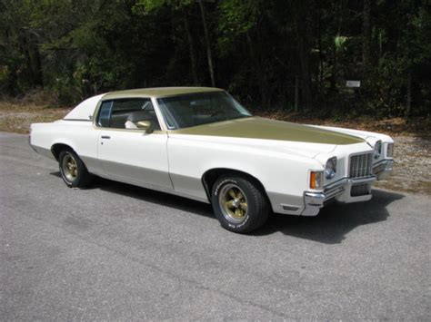 Pontiac Grand Prix 1972 by 1972 Pontiac Grand Prix Hurst Ssj Original 455 Engine