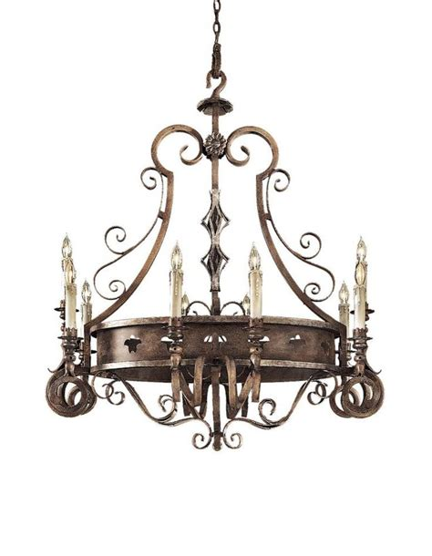 Tuscan Lighting by Brown Tuscan Patina Tuscan Patina Up Chandelier N6110