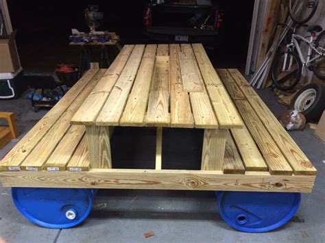 woodworking float 7 best images about floating picnic table project on