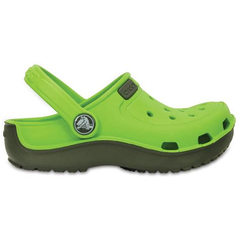 croc clogs for crocs crocs duet wave clog volt green dustly olive