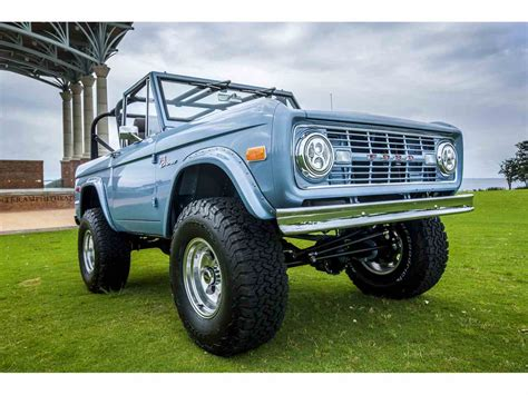 ford bronco for sale 1974 ford bronco for sale classiccars cc 994629