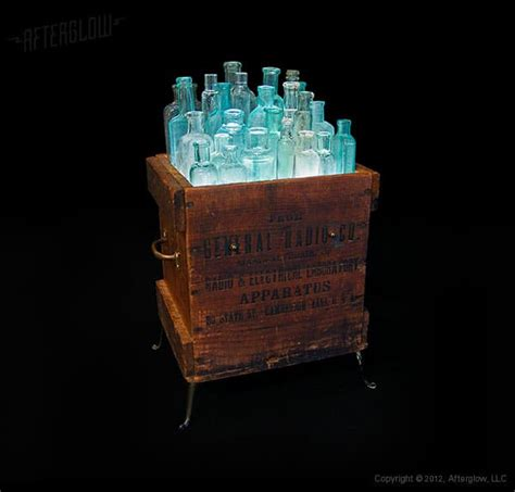 A Light In The Box by Light In Box Recycled Wood Bottles Floor L Id Lights