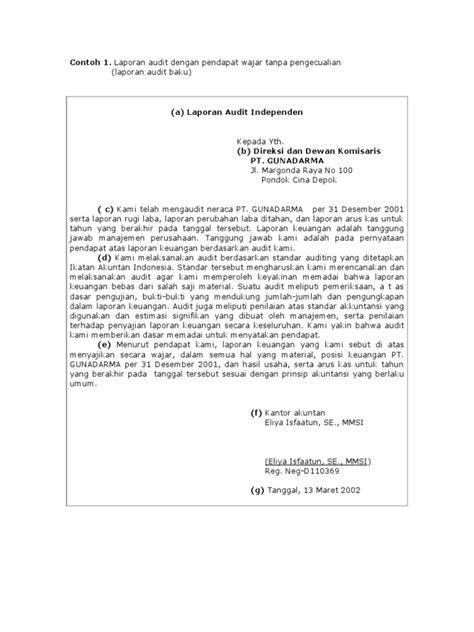 format laporan bpmu 2017 contoh laporan audit lkit 2017