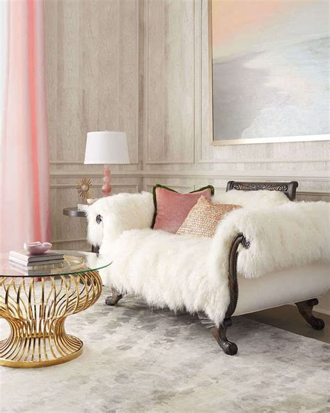 furry sofa fabulous faux fur style ideas to warm up your winter