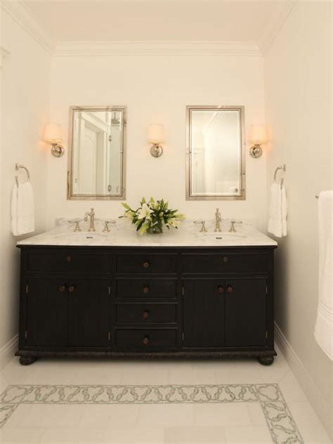 hgtv bathroom vanities two vanities hgtv
