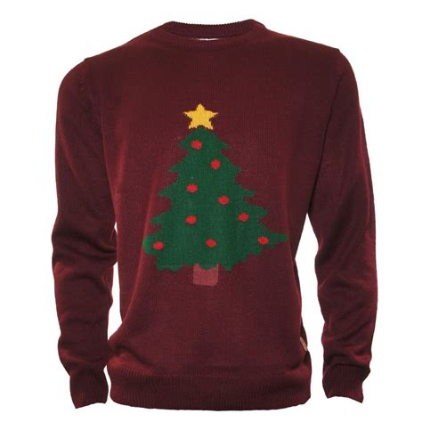 buy patterned christmas tree jumper jon barrie