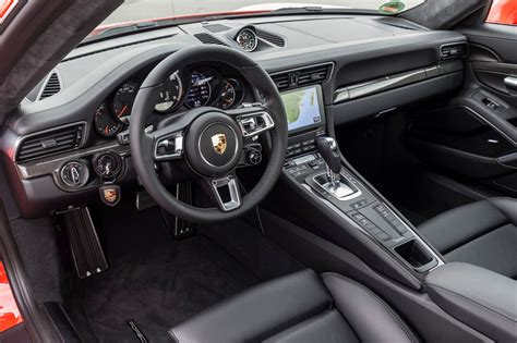 porsche 911 interior 2017 porsche 911 turbo and 911 turbo s review