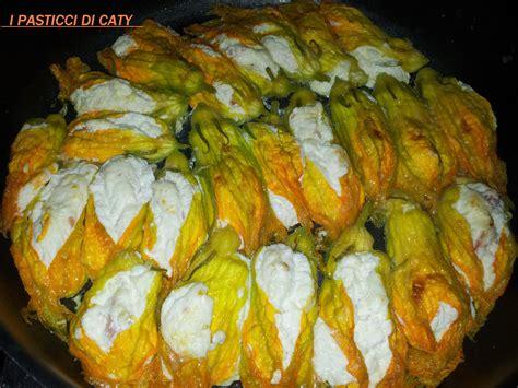 fiori di zucchina ripieni di ricotta fiori di zucchina ripieni di ricotta e salame