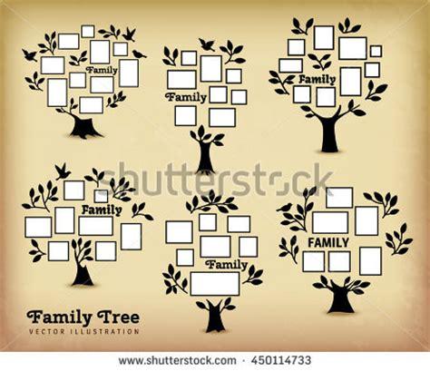 Memories Tree Picture Frames Insert Your Stock Vector ...