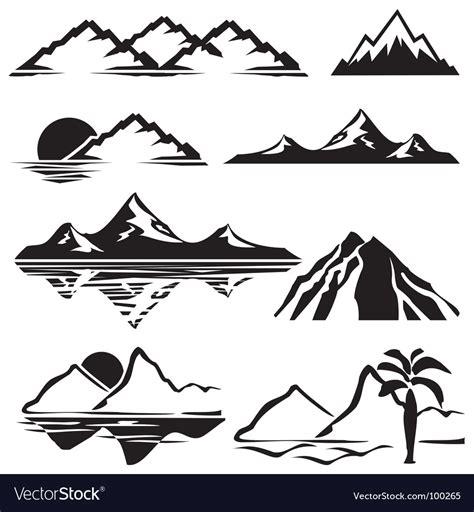 mountains royalty  vector image vectorstock