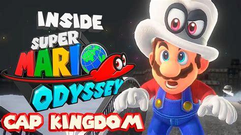 libro super mario odyssey kingdom inside super mario odyssey cap kingdom analysis youtube