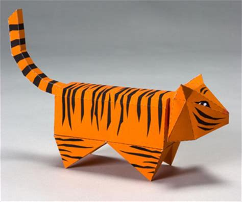 How To Make A Paper Tiger - paper tiger