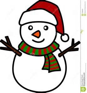 christmas snowman cartoon royalty free stock image image 27288206