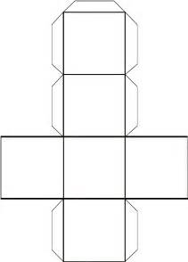 Cube Box Template template for a cube printable clipart best