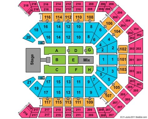 Mgm Grand Garden Arena Seating Chart by Mgm Grand Garden Arena Tickets In Las Vegas Nevada