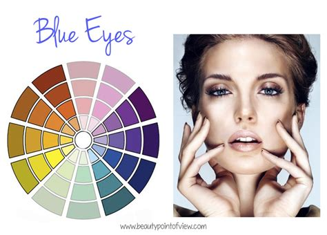 what colors make blue pop how to make your eye color stand out