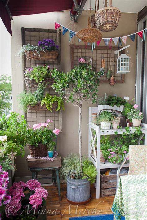 Garden In Balcony Ideas Balcony Garden Design Ideas Hative