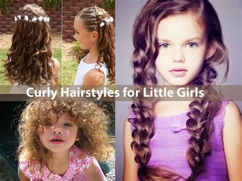 little girl hairstyles curly hair curly hairstyles for little girls how to style