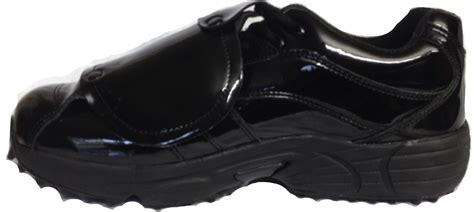 umpire plate shoes 3n2 reaction patent leather umpire plate shoes 3n2