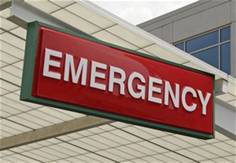 Emergency Room Signage by Houston Professional Organizer The Clutter Post