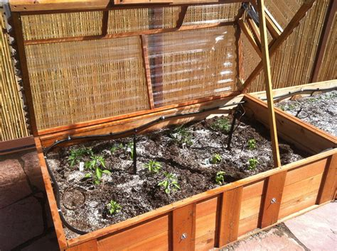 Raised Bed Garden Frames Cold Frame Raised Garden Bed S Aaron Jerad Designs