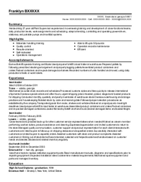 boiler house inspector title docs resume personal