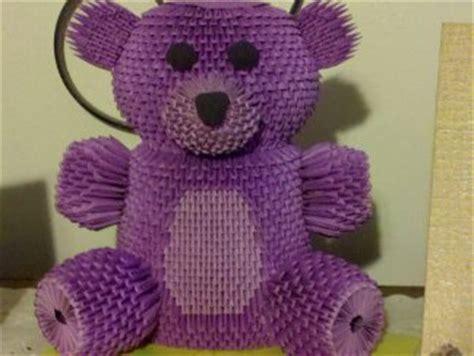 3d Origami Teddy - teddy 1 jpg album david foos 3d origami