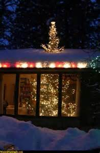 funny pictures weirdnutdaily christmas tree roof