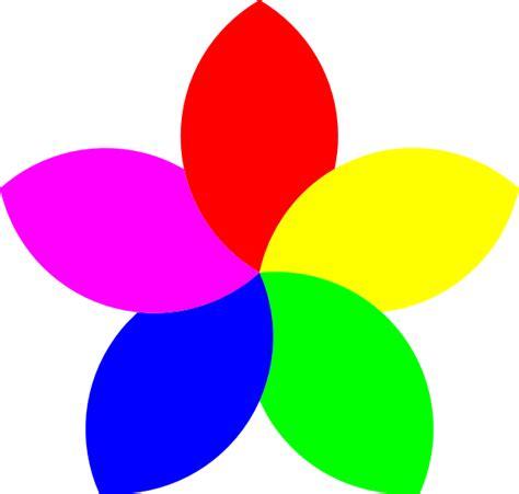 Flower Petal Clipart football 5 petal flower clip at clker vector clip royalty free domain