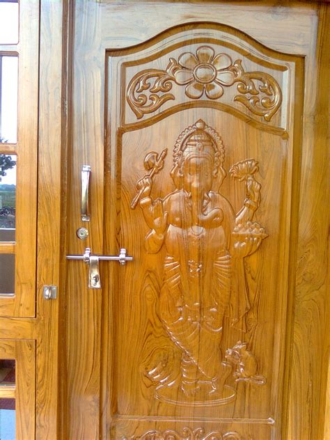wooden engraving designs standing vinayaka artcam file