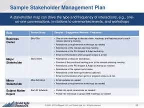 stakeholder engagement template the agile stakeholder management framework for teams