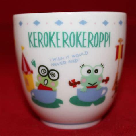 Mug Melamin Wajah Kero Keroppi 50 best images about sanrio japan on my melody vintage and plastic mugs