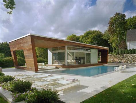 beautiful pool house in connecticut by hariri hariri architecture freshome