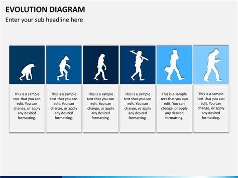 Ppt Templates Free Download Evolution | evolution powerpoint template sketchbubble