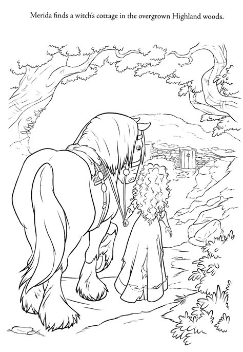 coloring pages disney brave new brave coloring pages brave photo 31293987 fanpop